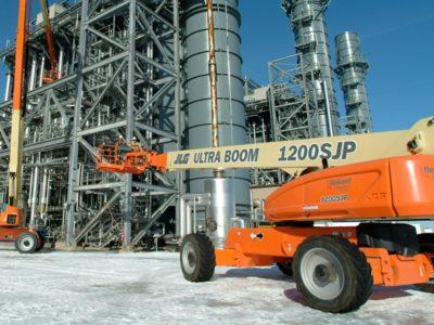 1200SJP - Série Ultra - Elevador de lança telescópica